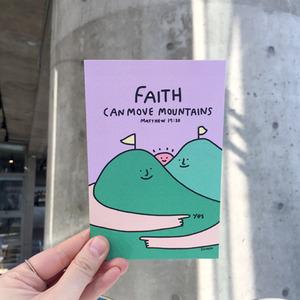 Postcard 08-Faith