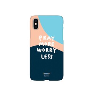 폰케이스 09.Pray more worry less