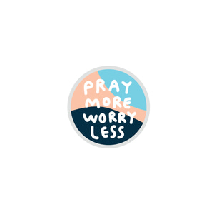 그립톡 02.Pray more worry less