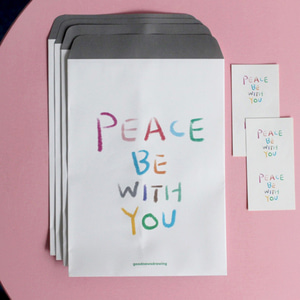 포장봉투 02. Peace be with you